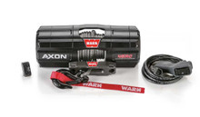 Warn 101240 AXON 45RC Synthetic Rope Power Sport Winch