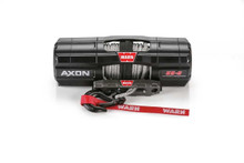 Warn 101150 AXON 55-S Synthetic Rope Power Sport Winch