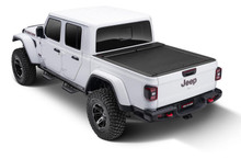 Roll-N-Lock M Series Bed Cover For Jeep Gladiator (Trail Rails) - LG495M