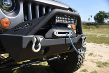 DV8 FS-15 Hammer Forged Front Bumper For Jeep JK/JL