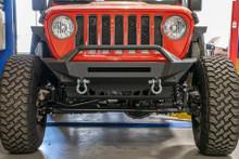 DV8 Stubby Front Bumper For Jeep Wrangler JL/Gladiator - FBJL-01