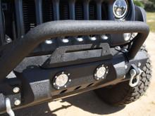 DV8 FS-11 Stubby Front Bumper For Jeep JK/JL/JT