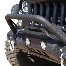 DV8 FS-11 Stubby Front Bumper For Jeep Wrangler JK/JL - FBSHTB-11