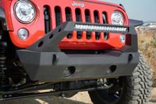 DV8 FS-25 Stubby Front Bumper For Jeep Wrangler JK/JL/Gladiator - FBSHTB-25
