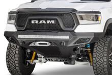 ADD Stealth Fighter Winch Front Bumper W/ Sensors For 19-21 Ram Rebel - F611422770103