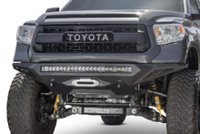 ADD Stealth Fighter Winch Front Bumper w/ Sensors For 14-21 Toyota Tundra - F741422860103