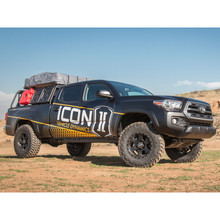 "Icon 0-3.5"" Stage 4 Tubular Suspension System For 05+ Toyota Tacoma - K53004T"