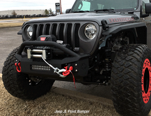 Iron Cross Stubby Front Bumper With Bar For 18+ Wrangler JL/Gladiator - GP-1202