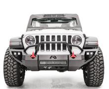 Fab Fours Vengeance Front Bumper For 18-19 Jeep Wrangler JL - JL18-D4652-1