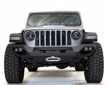 Fab Fours Matrix Front Bumper For 18-20 Jeep Wrangler JL / Gladiator - JL18-X4651-1