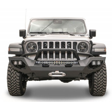 Fab Fours Matrix Front Bumper With Pre-Runner Guard For 18-20 Jeep Wrangler JL / Gladiator - JL18-X4652-1