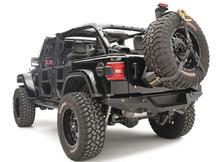Fab Fours Rear Bumper For 18-19 Jeep Wrangler JL - JL18-Y1851-1