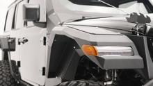 Fab Fours Light Front Fenders For Jeep Wrangler JL/Gladiator - JL2006-1