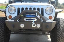 DV8 FS-13 Hammer Forged Front Bumper For Jeep JK/JL/JT