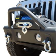 DV8 FS-13 Hammer Forged Front Bumper For Jeep Wrangler JK/JL - FBSHTB-13
