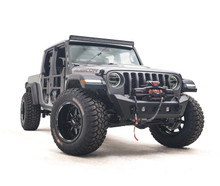 Fab Fours Stubby Front Bumper For Jeep Wrangler JL / Gladiator JT - JL18-B4751-1