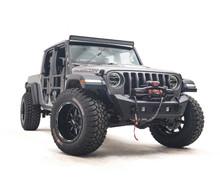 Fab Fours Stubby Front Bumper For 18-20 Wrangler JL/Gladiator - JL18-B4751-1