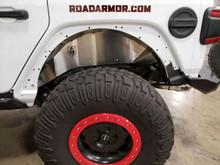 Road Armor Stealth Rear Fender Liners For Jeep Wrangler JL - 518LFR0Z