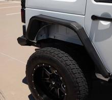 Road Armor Stealth Rear Fender Flare For 07-18 Jeep Wrangler JK - 507AFR0B