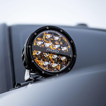 Rigid 360-Series 6IN LED Lights With Amber Backlight (Drive)
