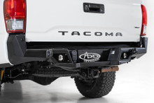 ADD Stealth Fighter Rear Bumper W/ Sensors For 16-21 Toyota Tacoma - R681241280103