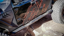 Fab Fours Rock Sliders For Jeep Wrangler JL - JL18-G1550-1