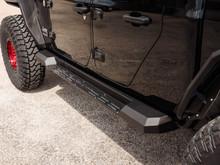Road Armor Stealth Running Board For Jeep Wrangler Gladiator - 520STP4B