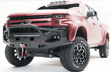 Fab Fours Matrix Front Bumper W/ Pre-Runner Guard For 19-20 Chevy Silverado 1500 - CS19-X4052-1