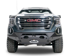 Fab Fours Matrix Front Bumper For 19-20 GMC Sierra 1500 - GS19-X3951-1