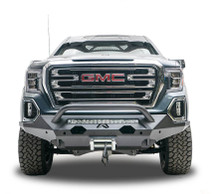 Fab Fours Matrix Front Bumper W/ Pre-Runner Guard For 19-20 GMC Sierra 1500 - GS19-X3952-1