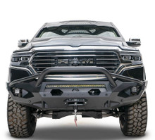 Fab Fours Matrix Front Bumper With Guard For 19-20 Ram 1500 - DR19-X4252-1