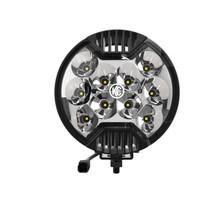"""KC HiLiTES 6"""" SlimLite LED Light 50w Spot Beam - 100"""