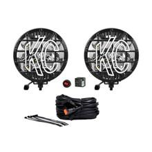 """KC HiLiTES 6"""" SlimLite LED Light 50w Spot Beam - 0100"""