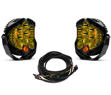 Baja Designs LP9 Pro Amber Driving Combo Pattern Round LED Light Kit - 320013-2-H