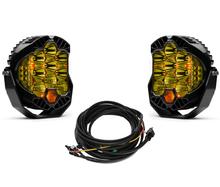 Baja Designs LP9 Pro Amber Driving Combo Pattern Round LED Light Kit - 320013-2-H