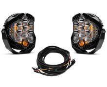Baja Designs LP9 Pro White Driving Combo Pattern Round LED Light Kit - 320003-2-H