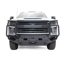 Fab Fours Matrix Front Bumper With Full Guard For 2020 Chevy Silverado 2500/3500 HD - CH20-X4950-1