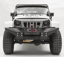 Fab Fours Grumper Full Width For 07-18 Jeep Wrangler JK - GR1010-1