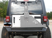 Fab Fours Rear Bumper For 07-18 Jeep Wrangler JK - JK07-Y1251-1