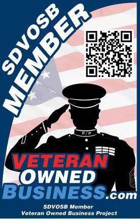 Veteran Owned Business Member! https://www.veteranownedbusiness.com
