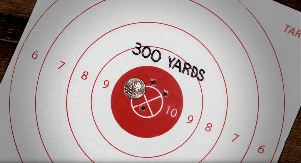 Can your rifle do this?