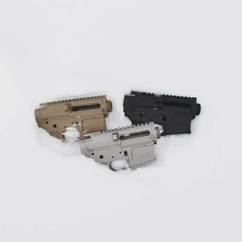 223 Multi-cal Billet Matched Set Upper & Lower Receiver