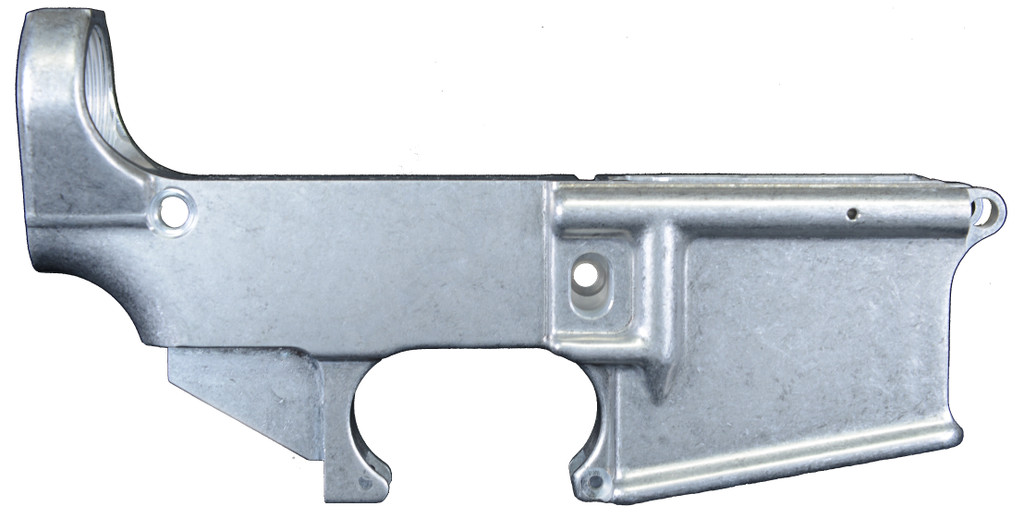 AR15 Mil Spec Forged 80% Lower Receiver Right View