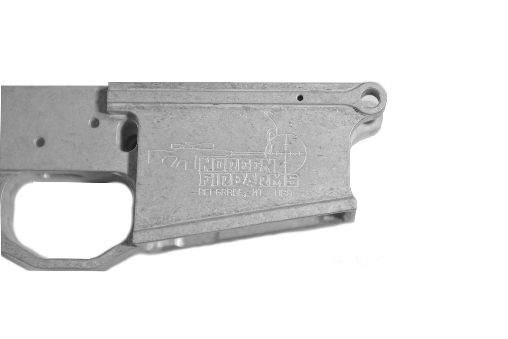 100% 308 Multi-cal Billet Lower Receiver - Raw, DPMS Pattern
