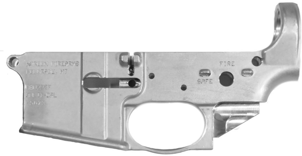 Forged AR15 Enclosed Trigger Guard left side, 100%