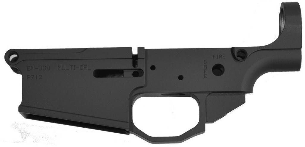 Noreen BN308 100% Billet Lower - Left Black Anodized