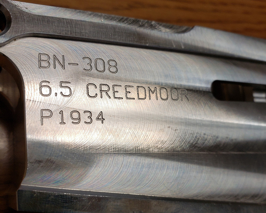 Noreen Billet 100% 6.5 Creedmoor Lower Receiver