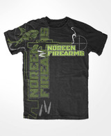 Noreen Firearms ultra soft black tee shirt