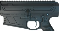 Left side, 300 win mag rifle