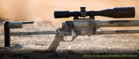 Close up of the action of the Noreen ULR 50 BMG